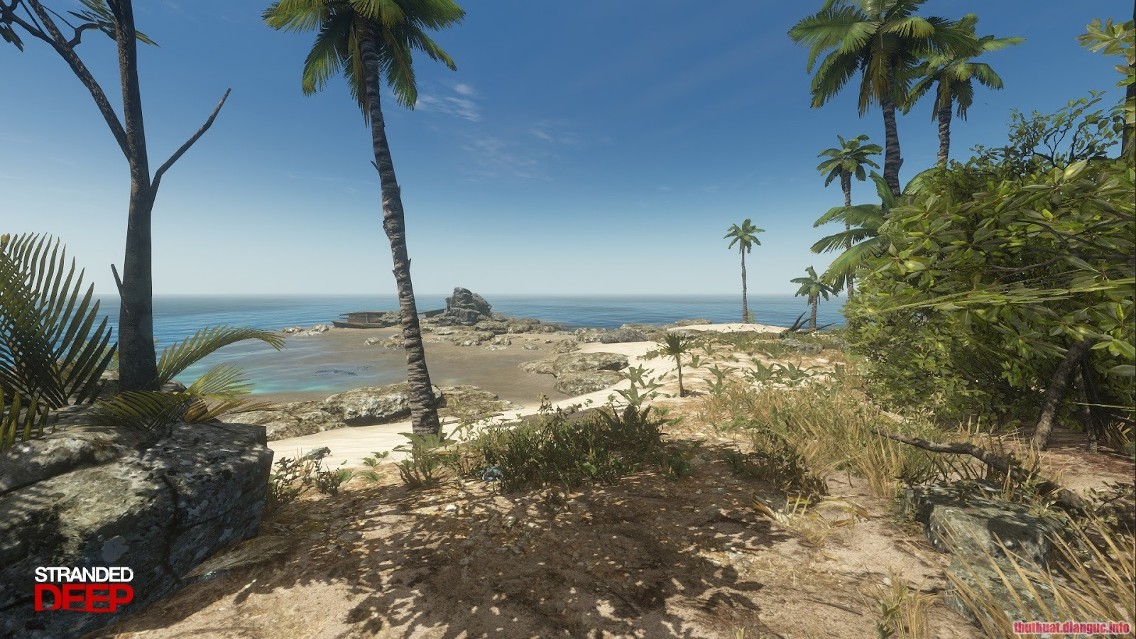 game sinh tồn đảo hoang