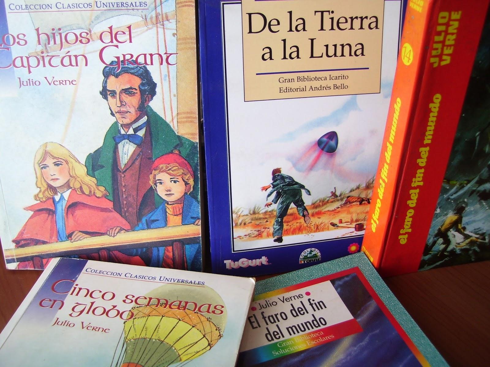 Elige Un Libro: ¿En Qué Orden Leer A Julio Verne?