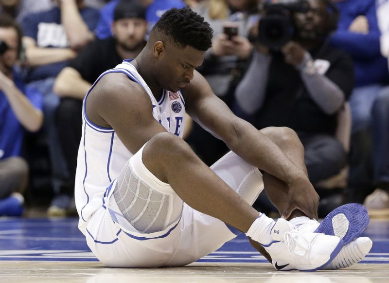 Zion Williamson's Nike shoe explosion & injury have ...