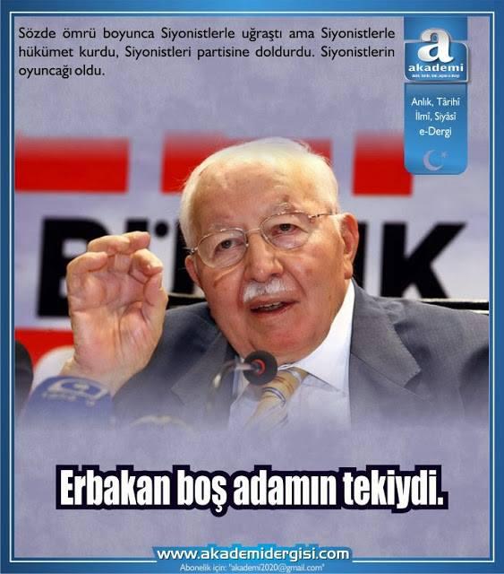 Erbakan boş adamın tekiydi | Mehmet Fahri Sertkaya | Akademi Dergisi Adnan Oktar, Uğur Dündar, Sabetaycılar, Mut'a nikahı, Telgraf, Fatih Erbakan
