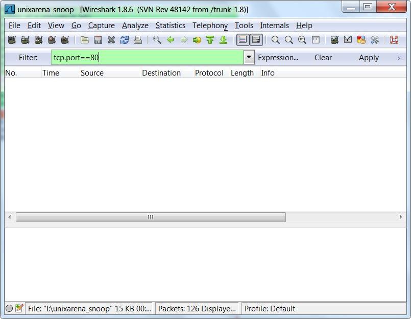 wireshark - How to analyse captured network data ? - UnixArena