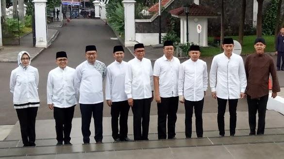 AHY dan 8 Kepala Daerah Kumpul di Istana Bogor, Kenapa Anies Tak Datang?