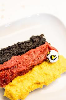 Deutschland auf dem Brot