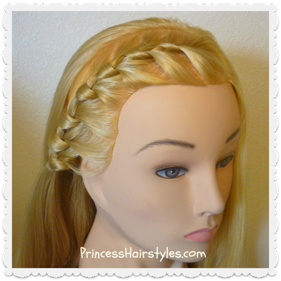 Tutorial for braid seen on Nicole brown Simpson on People Magazine cover