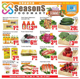 Seasons Flyer July 21 to 27, 2017