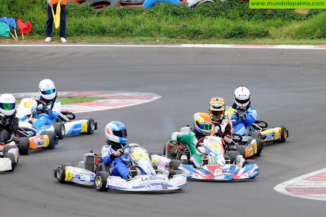 Santi Concepción Jr. comienza liderando el Campeonato de Canarias de Karting