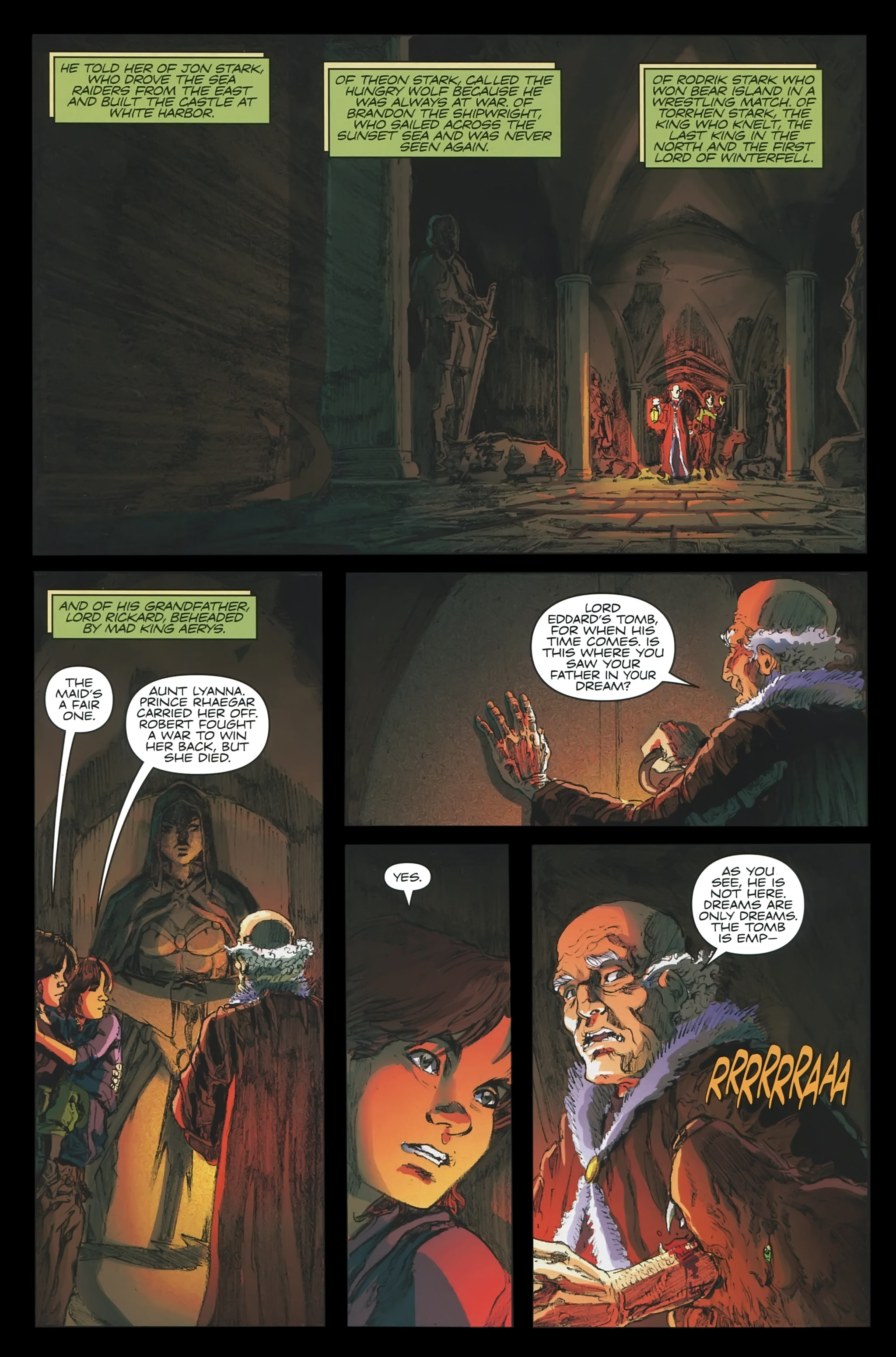 Read online A Game Of Thrones comic -  Issue #23 - 6