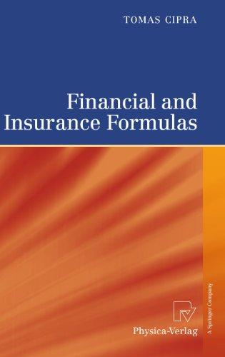 alt=Financial and Insurance Formulas