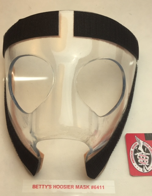 BraceBlogger.com: Broken Nose: Hoosier Mask #6411 To Betty ...