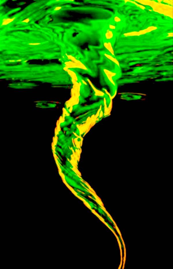 AMAZING SCIENCE: Make a glowing tornado in a jar!