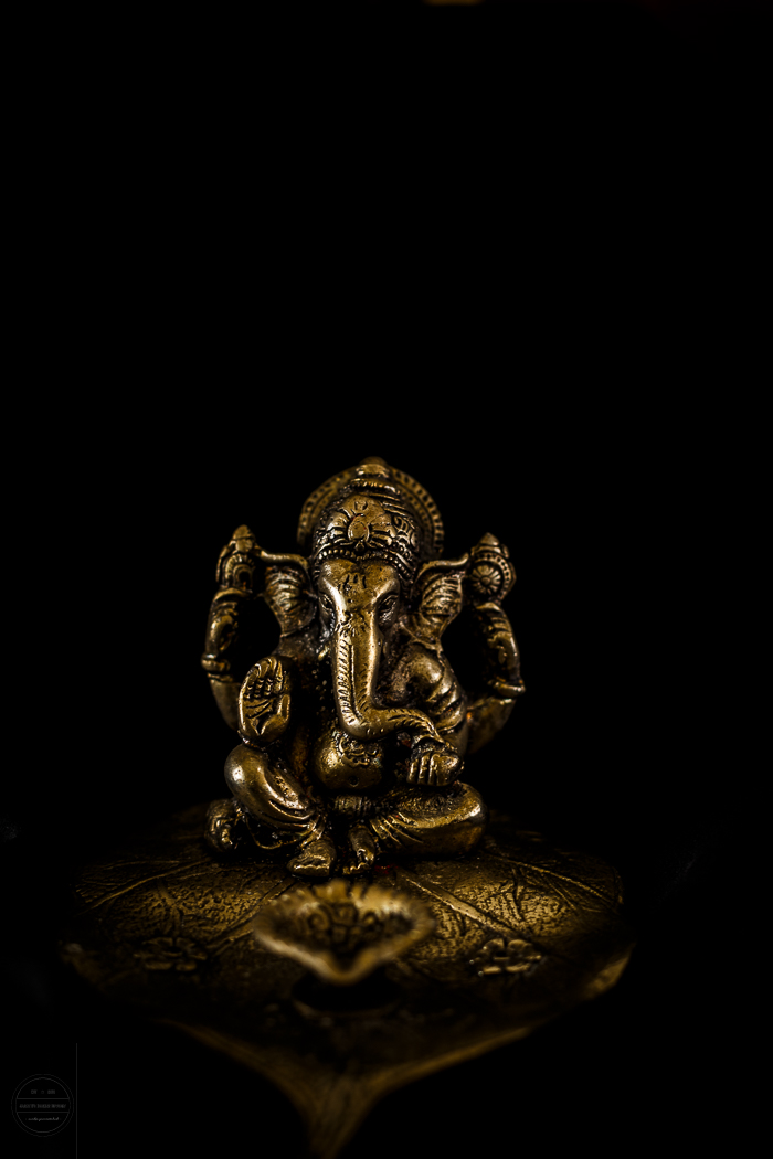 Hindu god Lord Ganesha also known as Elephant God.