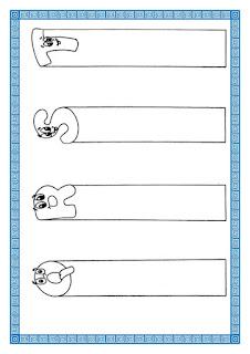 moldes de marcadores de páginas