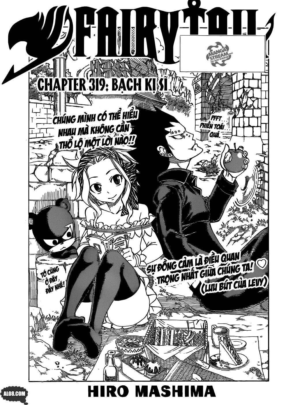 Fairy Tail chap 319 trang 1