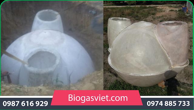 hầm ủ khí biogas