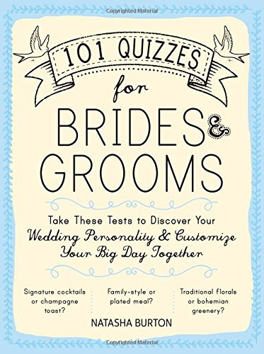Bridal magic 5 new wedding books to get your hands on now 101 quizzes for brides grooms junglespirit Images