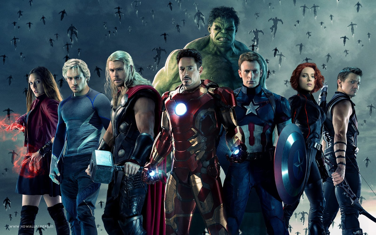 13 Karater yang muncul di Avengers: Age of Ultron