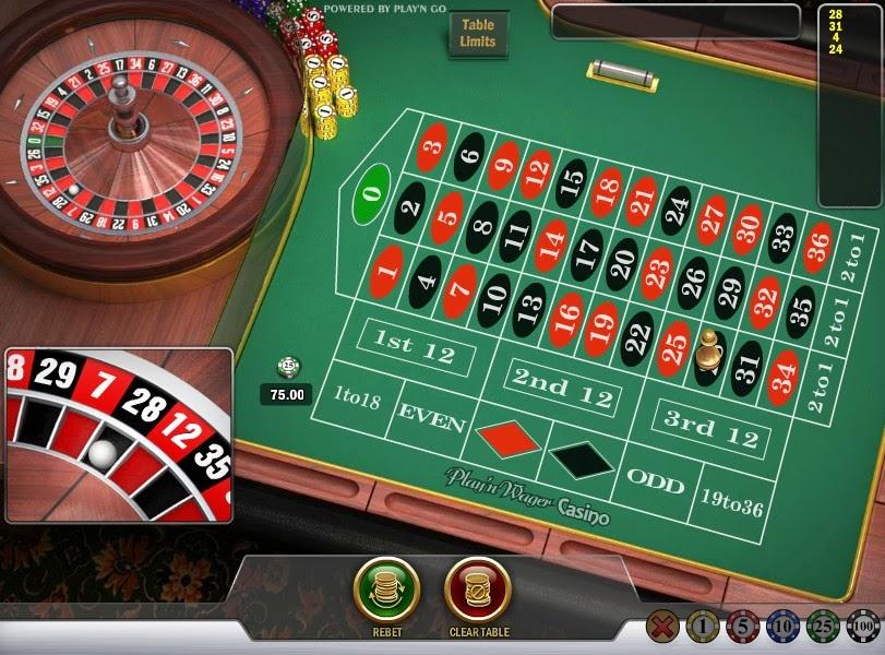 Unibet Roulette Screen