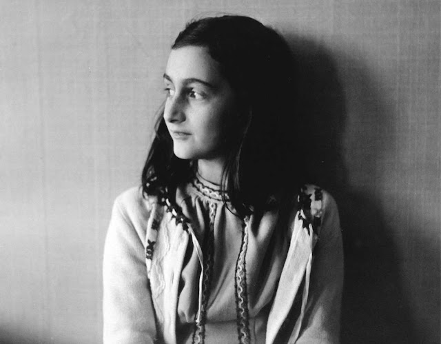 Anne Frank poses in 1941 in this photo made available by Anne Frank House in Amsterdam, Netherlands. In August of 1944, Anne, her family and others who were hiding from the occupying German Security forces, were all captured and shipped off to a series of prisons and concentration camps. Anne died from typhus at age 15 in Bergen-Belsen concentration camp, but her posthumously published diary has made her a symbol of all Jews killed in World War II.