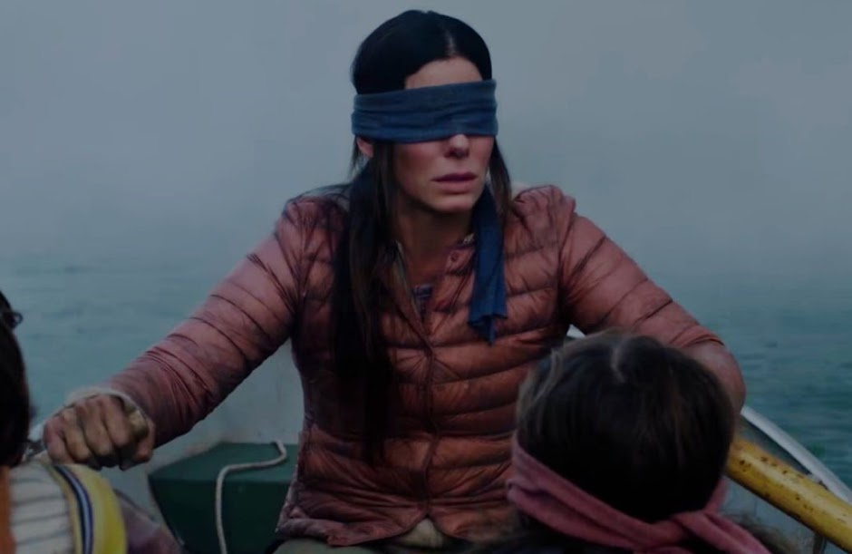 """Bird Box"", com Sandra Bullock"