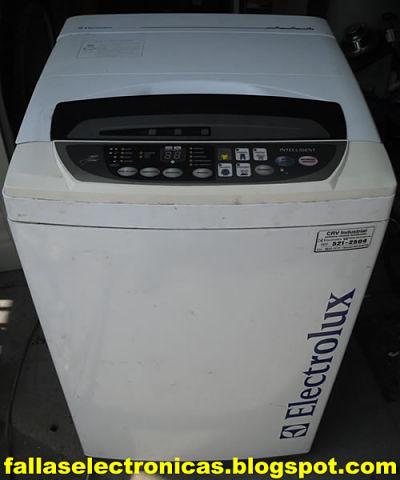 C mo reparar tarjeta lavadora electrolux elav 9700ai for Como reparar una lavadora