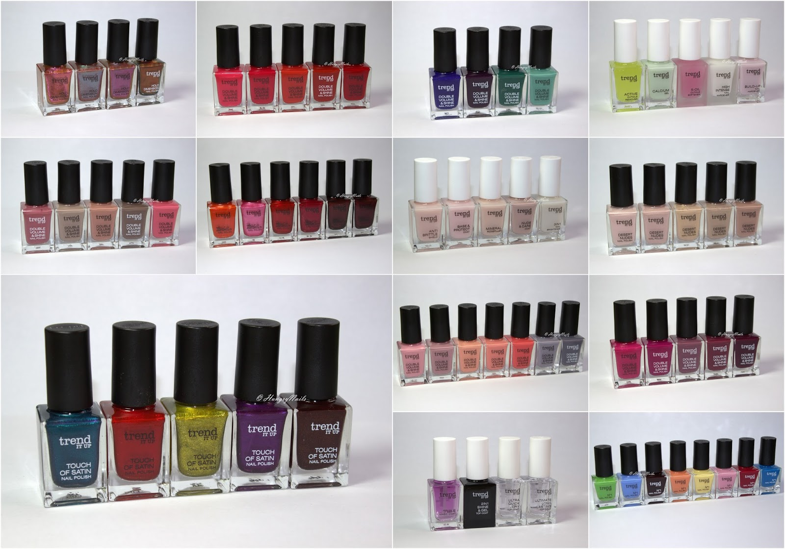 trend IT UP | Nagellack Swatches der neuen dm Marke - HungryNails ...