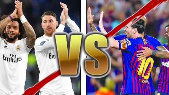 نتيجة مباراة اليوم بين برشلونة وريال مدريد (الكلاسيكو) وتألق المدريديين || 0-1!!