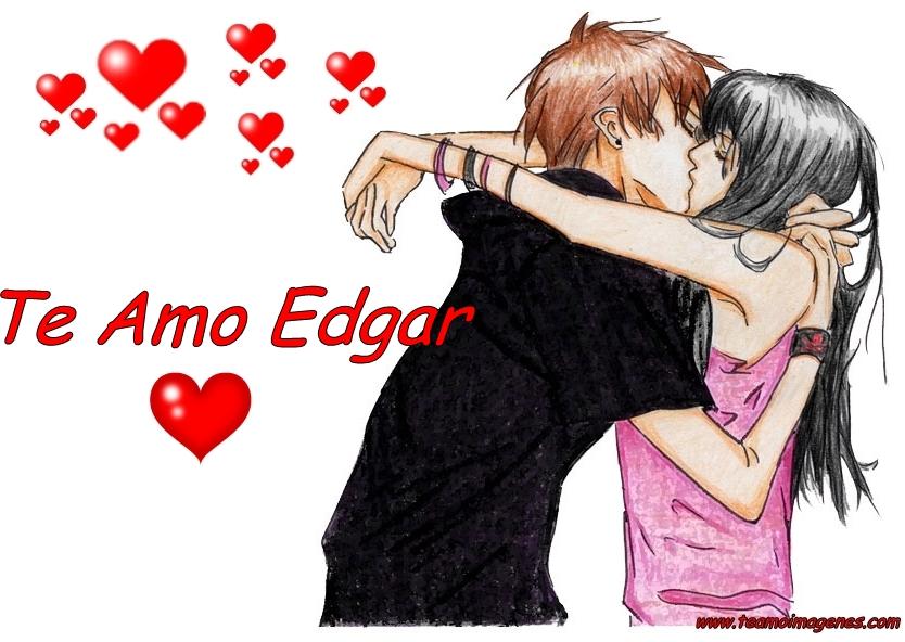 Las mejor imagen te amo edgar, teamoimagenes.com