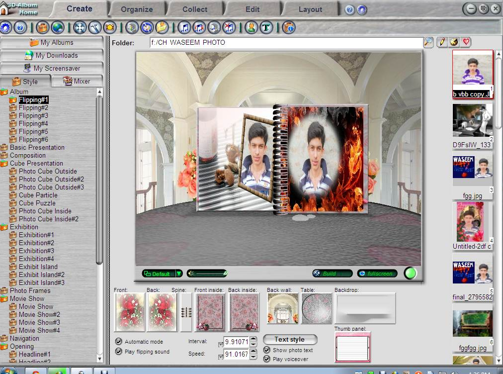 gratis 3d album commercial suite 3.29