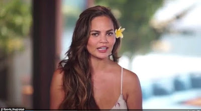Chrissy Teigen shows off her body in bikini for Sports Illustrated Swimsuit Issue