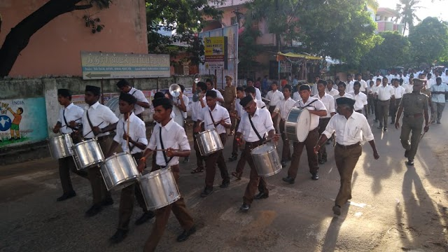 RSS Pathasanchalan at Karaikaal