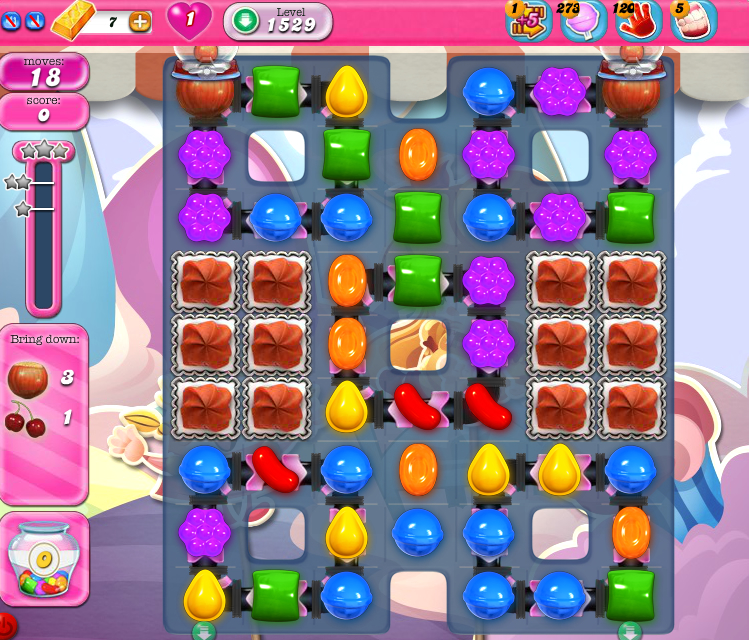 Candy Crush Saga 1529