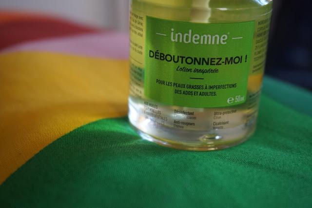indemne_déboutonnez_moi_gimme_clear_revue_avis_photos_produit_miracle_acne