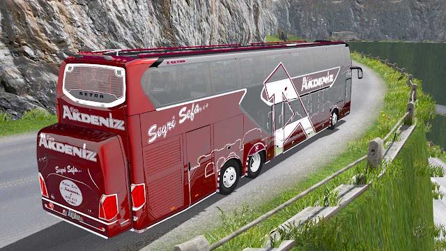 Mod Bus Tingkat Setra 531 DT Euro Truck Simulator 2