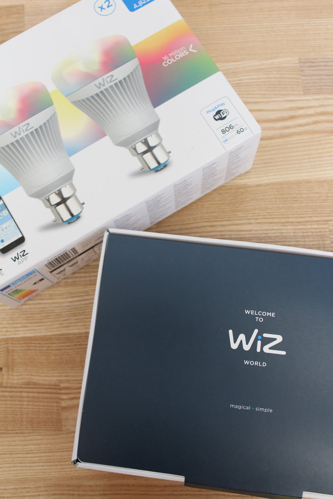 WiZ Smart Light Bulbs