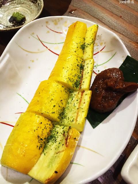 IMG 9734 - 【台中美食】來自日本傳統好滋味的 樂座端爐燒 @日本古早味@新鮮海鮮@新鮮蔬果~