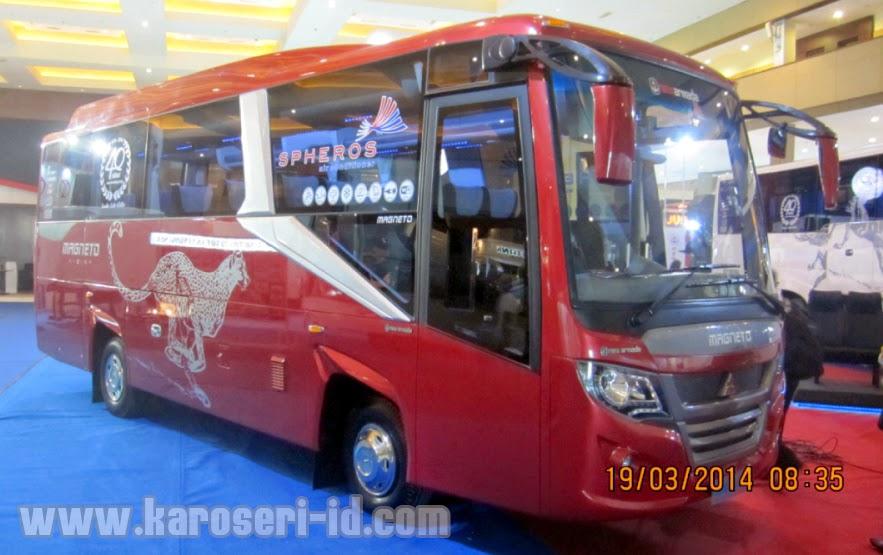 Harga Karoseri Medium Bus Magneto Pariwisata