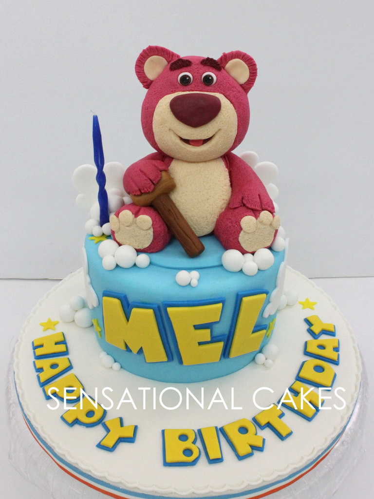Cakes2share Singapore Lotso Bear Toy Story 3d Cake Singapore Toy