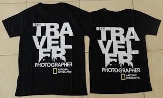 Jual Online Traveler Photographer Murah Jakarta Bahan Combed Terbaru