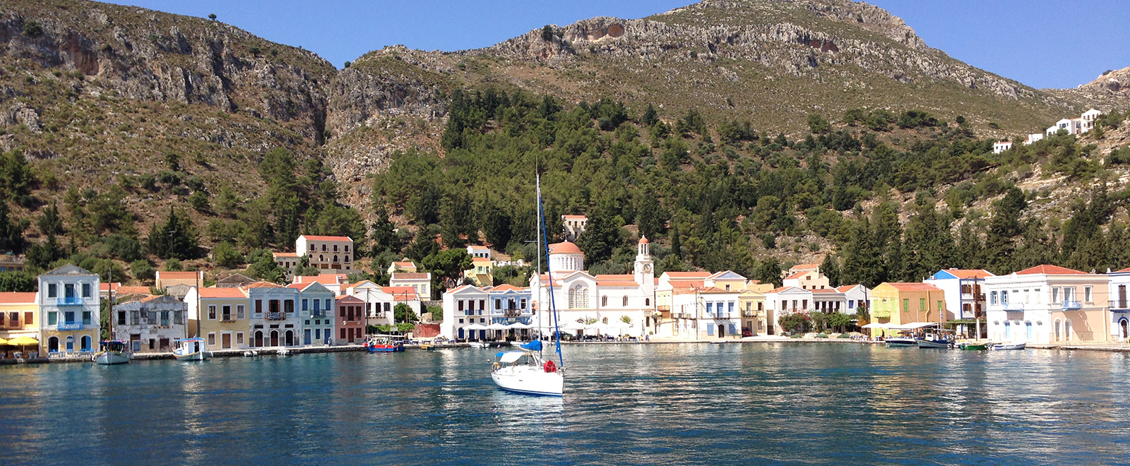 Greek Island Kastellorizo, also called Meis and Megisti
