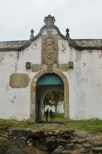 Fortaleza da Ilha do Mel no Paraná.