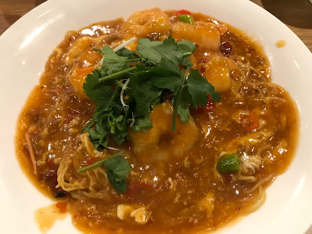 Chef Lagenda, Hawthorn, chilli prawn noodles