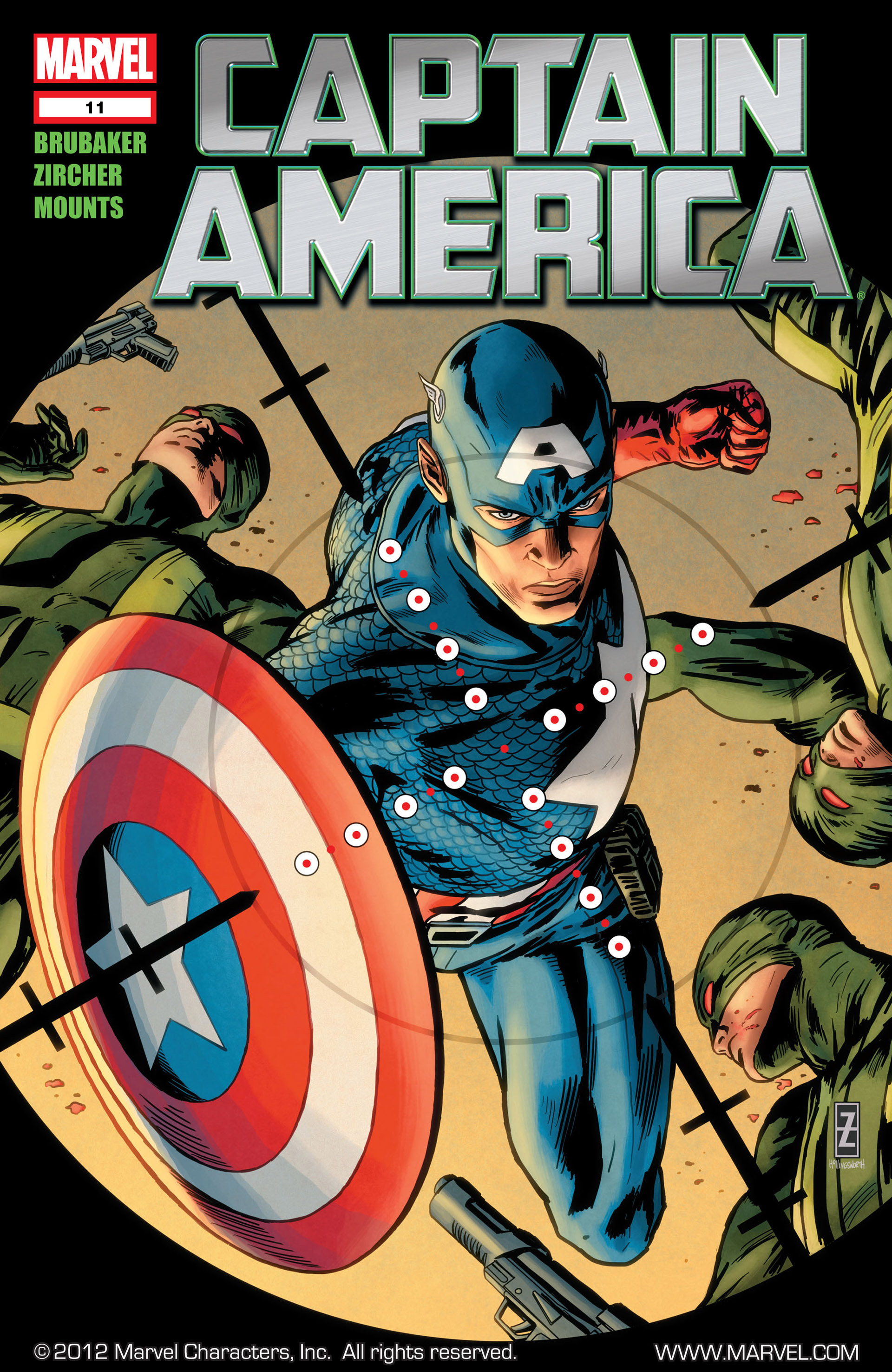 Captain America (2011) 11 Page 1
