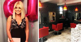 Lydia Newman, founder of L & Co Hair & Beauty salon