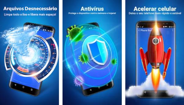 Limpeza e segurança do Android – Clean Master