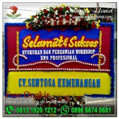 Toko Karangan Bunga Papan Selamat di Medan Satria Bekasi