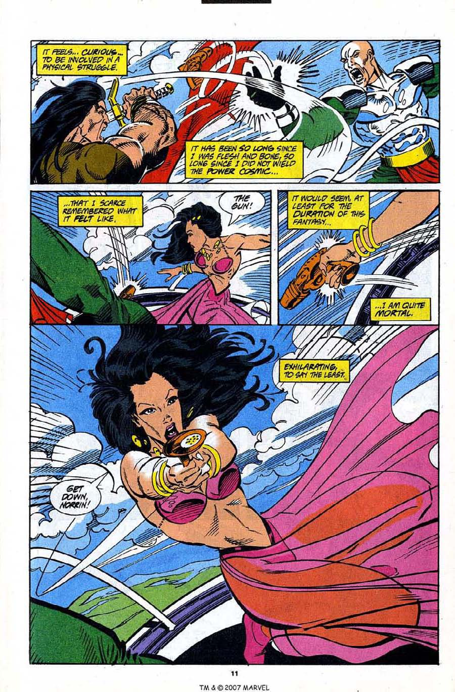 Read online Silver Surfer (1987) comic -  Issue #91 - 13
