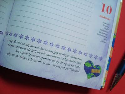 Kalendarz 2017, Na dobre dni, Małgorzata Kalicińska, kalendarz książkowy