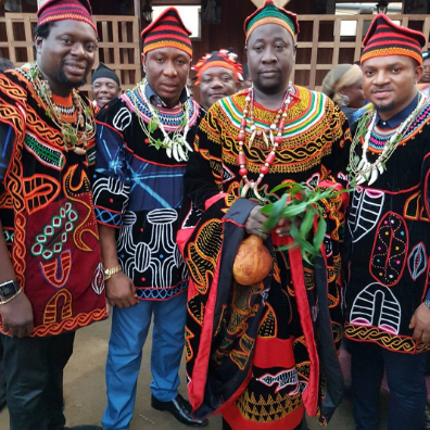 Tchidi Tchikere, Klint Da Drunk, Walter Anga given chieftaincy title in Cameroon (Lovely photos)