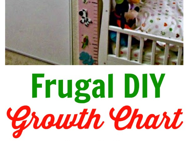 Homemade GROWTH CHART - Easy and made with Love ♥