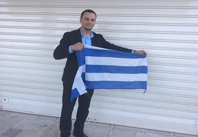ΕΠΙΤΕΛΟΥΣ ΔΙΚΑΙΩΣΗ ! ΤΟΝ ΘΥΜΑΣΤΕ ΤΑΧΙΡ ΒΕΛΙΟΥ ΕΚΑΙΓΕ ΚΑΙ ΕΣΚΙΖΕ ΕΛΛΗΝΙΚΕΣ ΣΗΜΑΙΕΣ ! Συνελήφθη ο επικεφαλής εξτρεμιστικής οργάνωσης στην Αλβανία